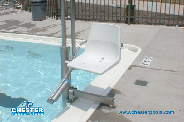 Chester ada accessibility lift for Pool design requirements