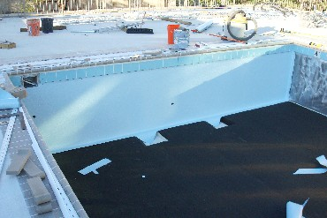Aquabond Liner Installation