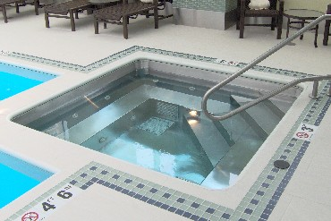 Stainless Steel Finish Spa
